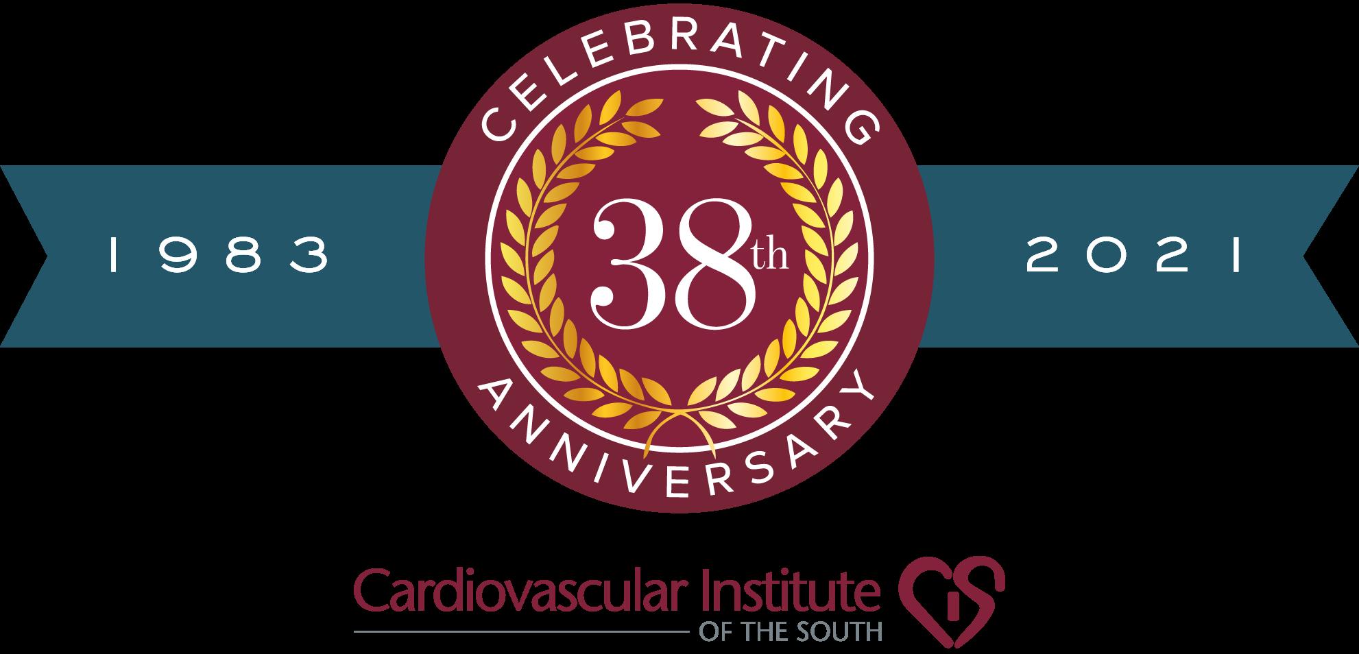 38th Anniversary Logo